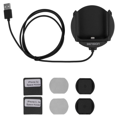 Тримач iPhone 5 для адаптерів Dension Gateway 500S / Pro BT (IP5LCRU) Прев'ю 2
