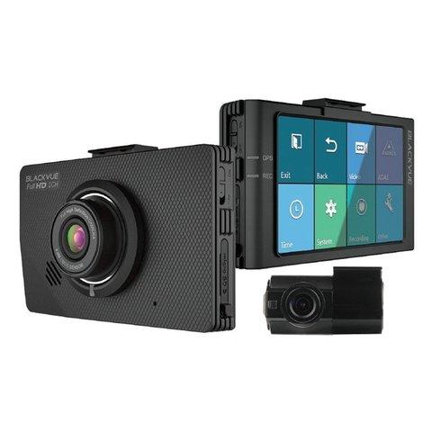 Відеореєстратор із вбудованим дисплеєм, G-сенсором і сенсором руху BlackVue DR490 L-2СH GPS Прев'ю 1