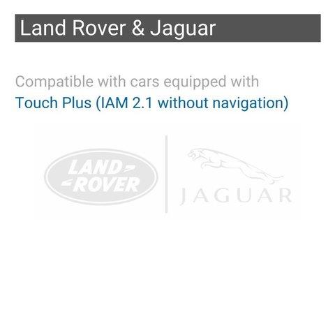 Безпровідний CarPlay та Android Auto адаптер для Jaguar / Land Rover / Range Rover з системою Touch Plus (IAM2.1 без навігації) Прев'ю 1