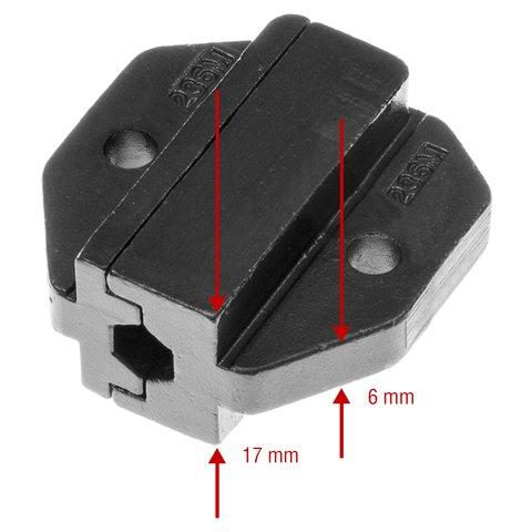 Матриця для кримпера Pro'sKit CP-236DM5 Прев'ю 2