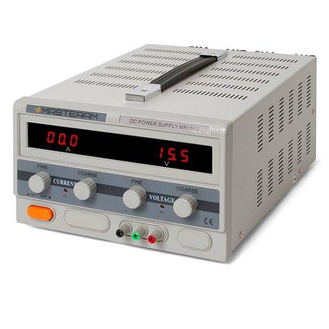 Регулируемый блок питания Masteram MR1510