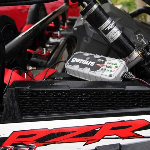 Інтелектуальний зарядний пристрій G7200EU для 12 В та 24 В акумуляторів - Перегляд 6