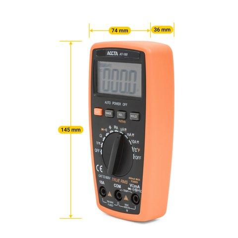 Кишеньковий цифровий мультиметр Accta AT-180 Прев'ю 1