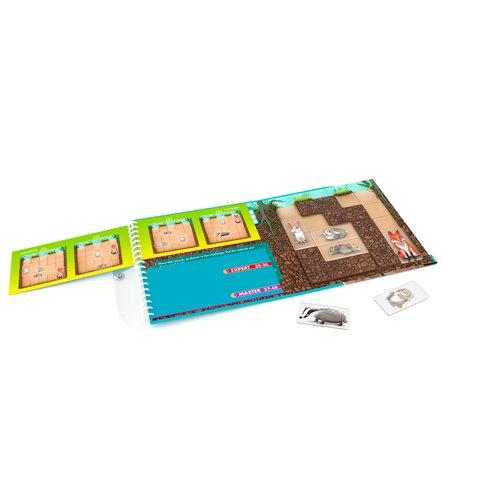 Дорожная магнитная головоломка Smart Games Подземные приключения или Где чья нора? Превью 1