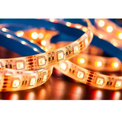 RGB+WW LED Strip SMD5050 (300 LEDs, 12 V, 5 m, IP65) Preview 1